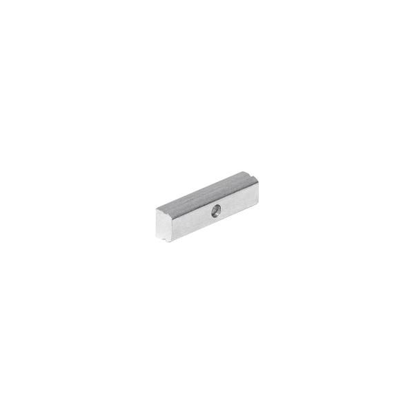 Montagehalter für GLENOS WANDPROFILE, alu eloxiert, inkl. Schrauben und Dübel, 3 Stück