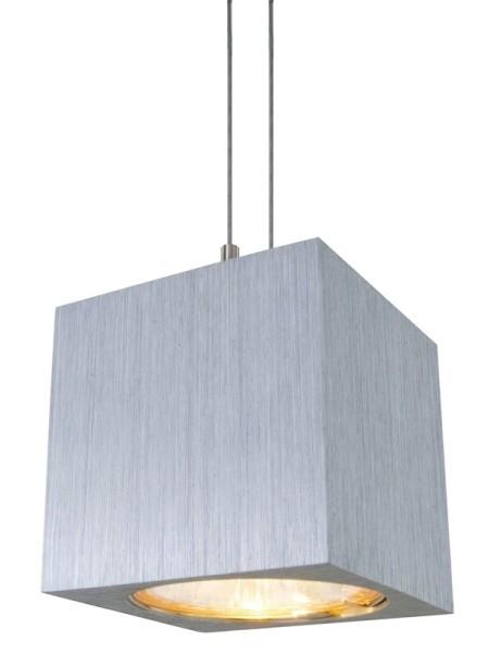Hängeleuchte Anguloso, Aluminium, MR16