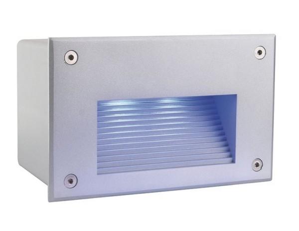Deko-Light Wandeinbauleuchte, Side III LED RGB, Aluminium Druckguss, silberfarben matt, RGB, 120°