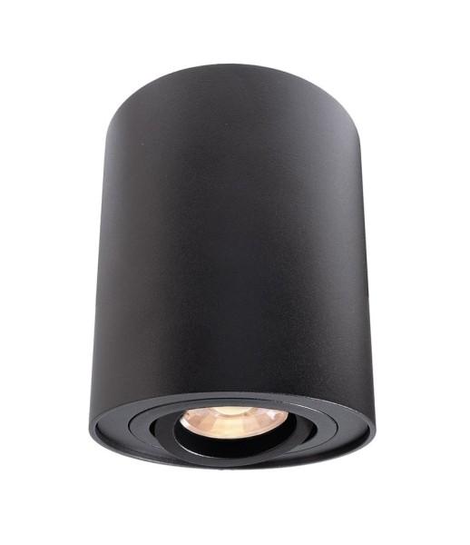 Deko-Light Deckenaufbauleuchte, Bengala, Aluminium, schwarz, 50W, 230V