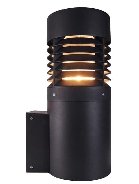 Kapego Wandaufbauleuchte, Porto II, exklusive Leuchtmittel, spannungskonstant, 220-240V AC/50-60Hz
