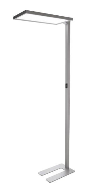Deko-Light Stehleuchte, Office One Motion, Aluminium, silberfarben, Neutralweiß, 110° / 80°, 80W