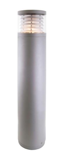 Outdoorstehleuchte Pilastra, 100W,Druckguss silber