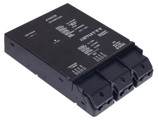 LED-NETZTEIL, 60W, 12V, 3-fach dimmbar über 1-10V