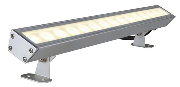 GALEN LED-PROFIL, Outdoor Fassadenleuchte, LED, 3000K, IP65, aluminium eloxiert, 15W