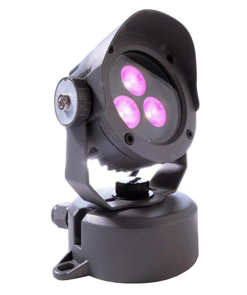 Deko-Light Boden- / Wand- / Deckenleuchte, Power Spot IV RGB, Aluminium Druckguss, anthrazit, RGB