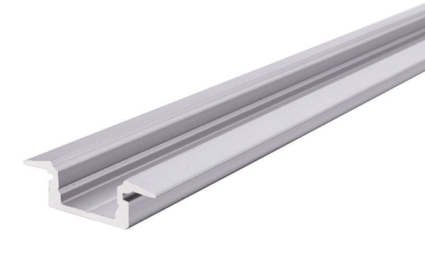 Reprofil Profil, T-Profil flach ET-01-10, Aluminium, Silber-matt eloxiert, 3000mm