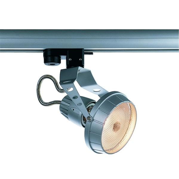 AERO PAR30 Spot, silbergrau, E27, max. 75W, inkl. 3P.-Adapter