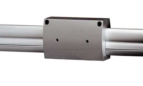 ISOLIERVERBINDER, für Hochvolt-Stromschiene EASYTEC II, silbergrau