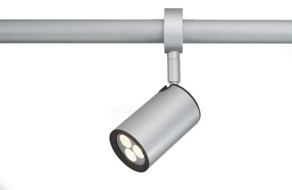 Tune 2-Phasen Spot Tuba GU10 50 Watt silber