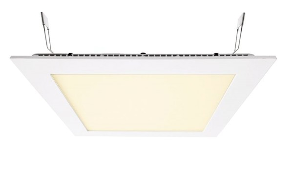 Deko-Light Deckeneinbauleuchte, LED Panel Square 20, Aluminium Druckguss, weiß, Warmweiß, 110°, 17W