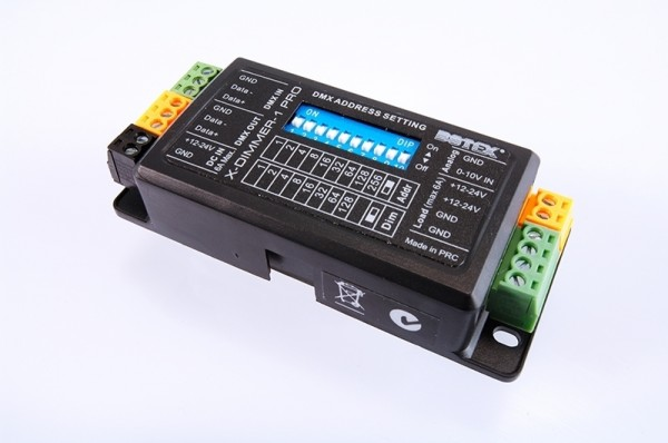Botex Controller, X-Dimmer 1 Pro, spannungskonstant, 12-24V DC, 144,00 W