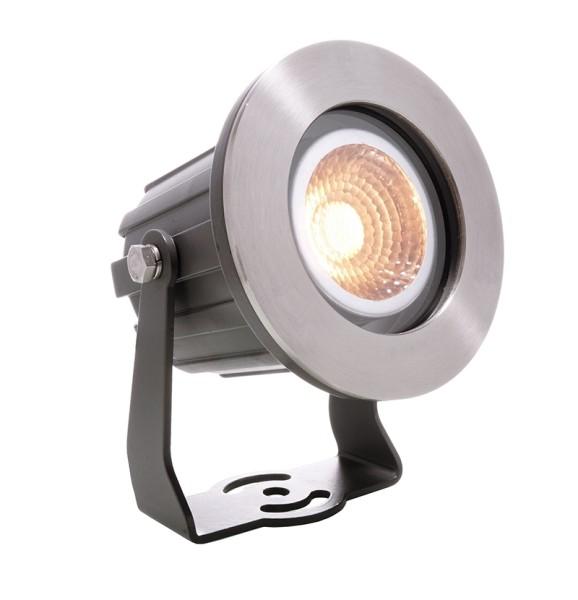 Deko-Light Boden- / Wand- / Deckenleuchte, Power Spot COB IV WW, Aluminium Druckguss, anthrazit, 30°