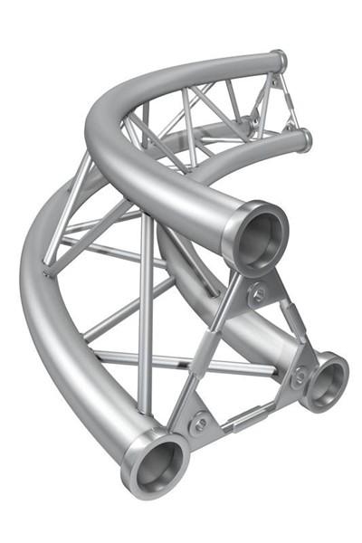 M25 AS Kreisstück für Kreis 2,0m Ø / 1 Stück 90°