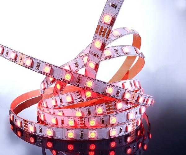 Flexibler LED Stripe IP 20, 24V, 3 m RGB, 60 LED