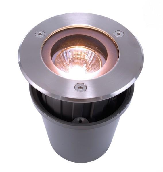 Bodeneinbauleuchte, Quick Round, symmetrisch, 220-240V AC/50-60Hz, 35,00 W