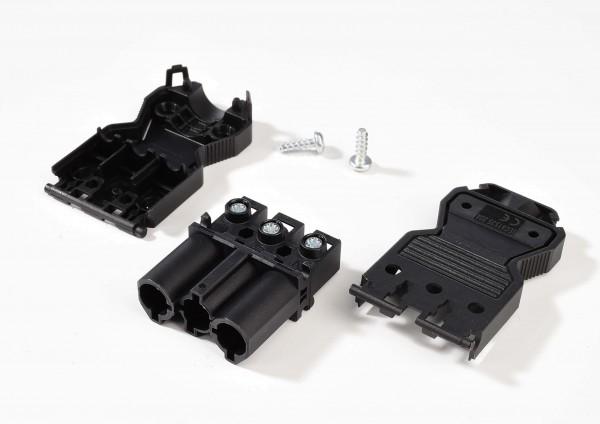 Zubehör, Wieland GST18i3 Buchse Verteilerblock, Kunststoff, Schwarz, 230V, 70x28mm