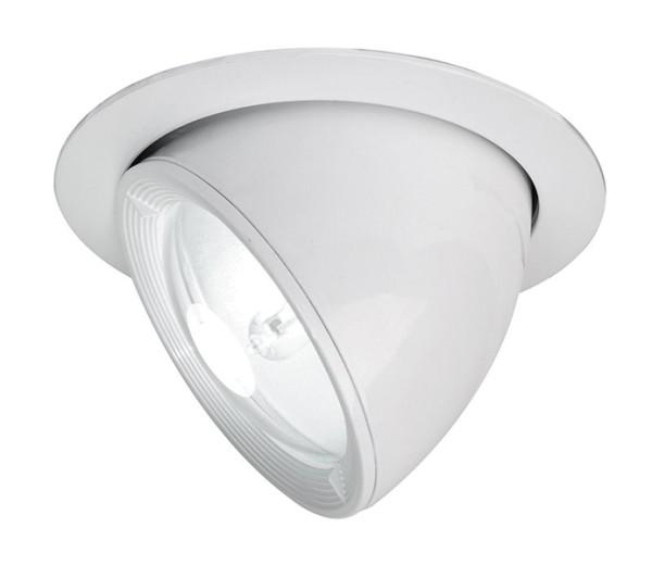 Kapego Deckeneinbauleuchte, Tropea, exklusive Leuchtmittel, Weiß, Abstrahlwinkel: 15°-40°, G12