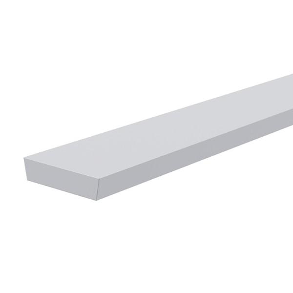 Reprofil, Abdeckung I-01-12, Kunststoff, milchig 40% Transmission, Länge: 2000 mm