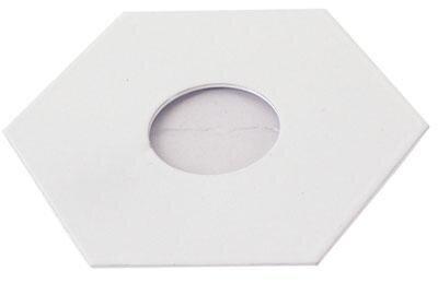 Hexa Platte für Light Point weiß.