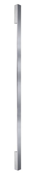 Deko-Light Wandaufbauleuchte, Larga 1700, Aluminium Druckguss, silberfarben gebürstet, Warmweiß, 13W