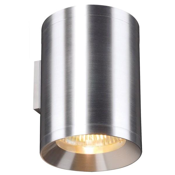 ROX, Wandleuchte, QPAR111, rund, up/down, aluminium natur, max. 100 W