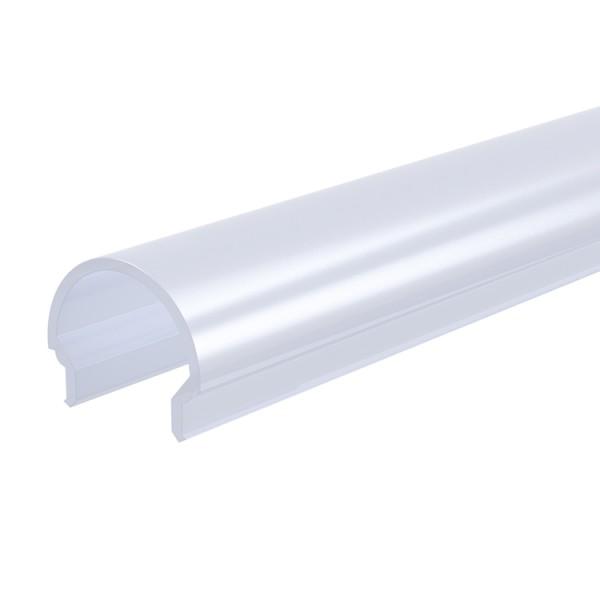 Reprofil, Abdeckung R-01-10, Kunststoff, milchig 40% Transmission, Länge: 4000 mm