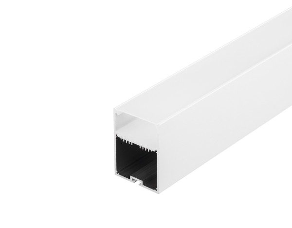 GLENOS, Profi-Profil 4970, mit Cover, weiß, 1 m