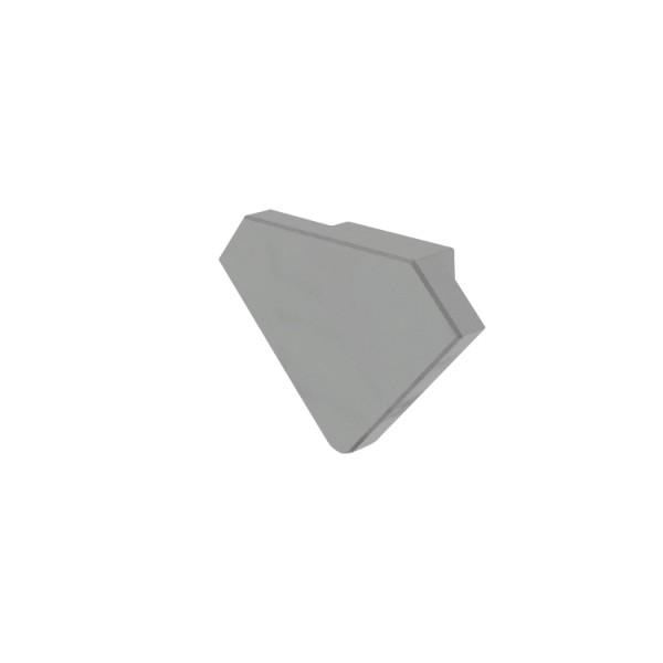Reprofil, Endkappe P-EV-04-12 Set 2 Stk, Kunststoff, Länge: 24,5 mm