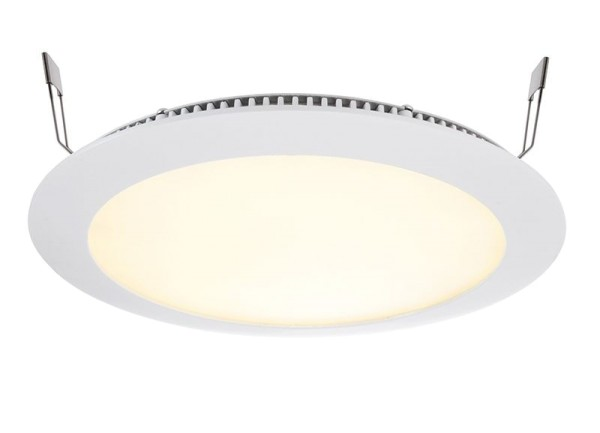 Deko-Light Deckeneinbauleuchte, LED Panel 16, Aluminium Druckguss, Weiß-matt, RGB + Warmweiß, 120°