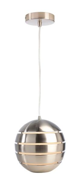 Deko-Light Pendelleuchte, Ankaa 280, Metall, Edelstahl gebürtstet, 40W, 230V, 1500mm