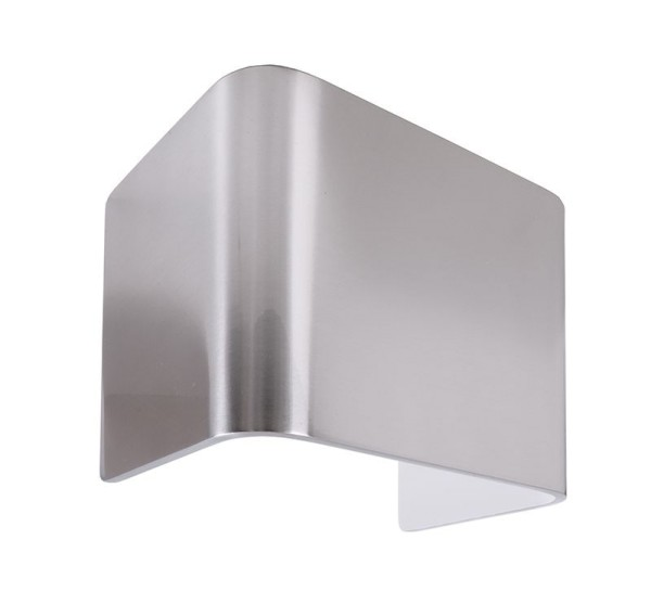 Deko-Light Zubehör, Abdeckung Crateris I Aluminium poliert, Aluminium, Silber poliert, 125x90mm