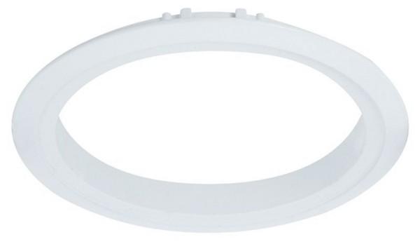 Deko-Light Deckeneinbauleuchte, Tura Grundrahmen 1er rund, Weiß