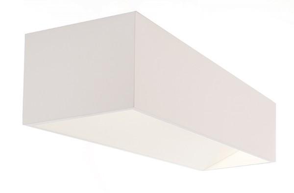 Deko-Light Wandaufbauleuchte, Dado Double, Aluminium, weiß, Warmweiß, 140°, 10W, 230V, 300x100mm