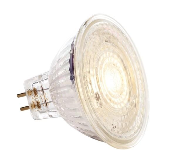 Osram Leuchtmittel, PARATHOM MR16 DIM 35 36° 5 W/830 GU5.3, Warmweiß, Abstrahlwinkel: 36°, 12V AC/DC