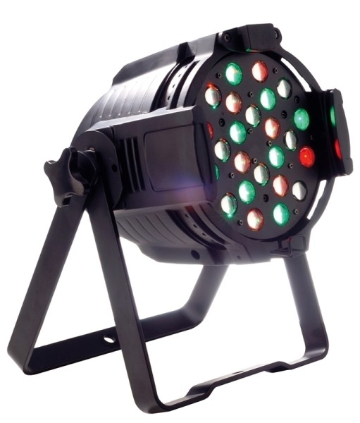 Studio Par Zoom Black RGB LED 10°- 60°, 24 x3 Watt