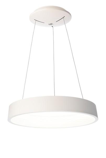 Deko-Light Pendelleuchte, Sculptoris 60, Aluminium, weiß matt, Neutralweiß, 150°, 40W, 230V