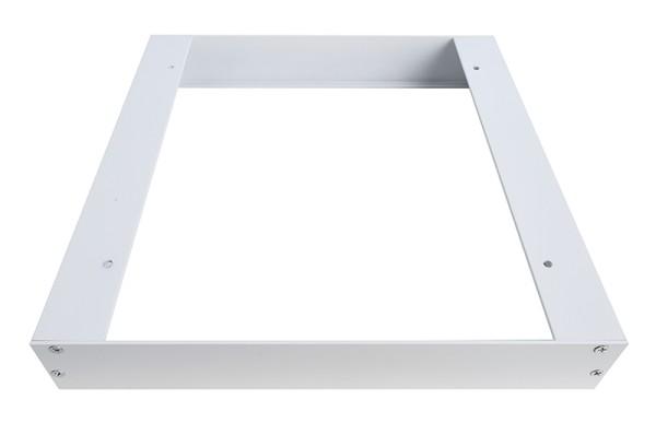 Deko-Light Zubehör, Aufbaurahmen 30x30, Aluminium Strangpressprofil, weiß, 303x303mm