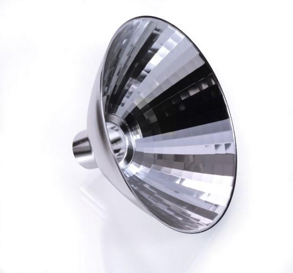 Deko-Light Zubehör, Reflektor Tuba 24°, Aluminium, Silber, 24°