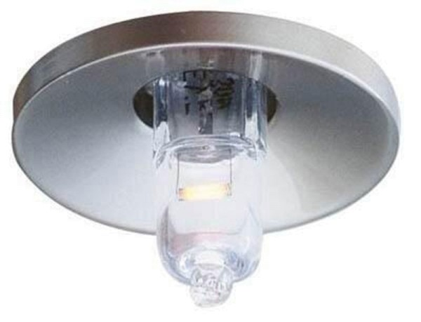 Deko-Light Deckeneinbauring, Lightpoint, Aluminium Druckguss, silberfarben Edelstahl, 20W, 12V