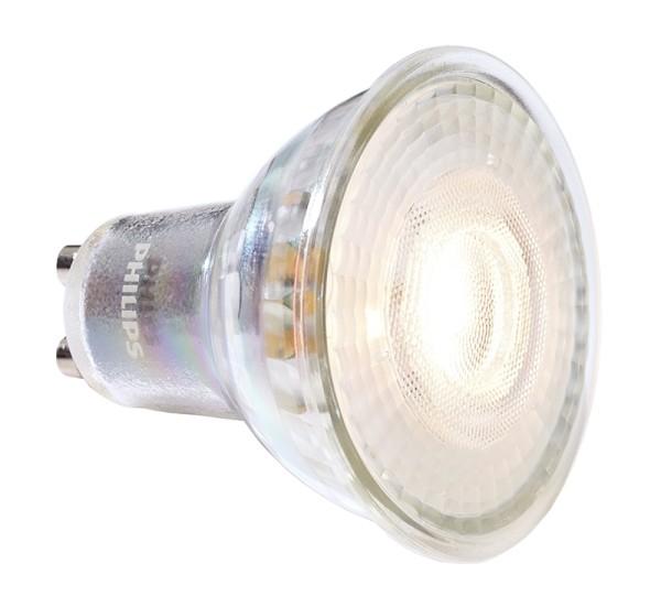 Phillips Leuchtmittel, MASTER VALUE LEDspot MV GU10 927, Glas, Silber, Warmweiß, 36°, 4W, 230V, 27mA