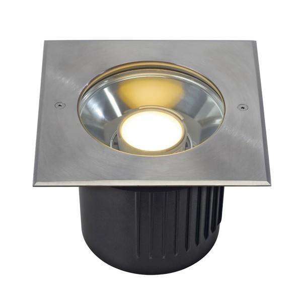 DASAR MODUL LED, Outdoor Bodeneinbauleuchte, IP67, eckig, edelstahl
