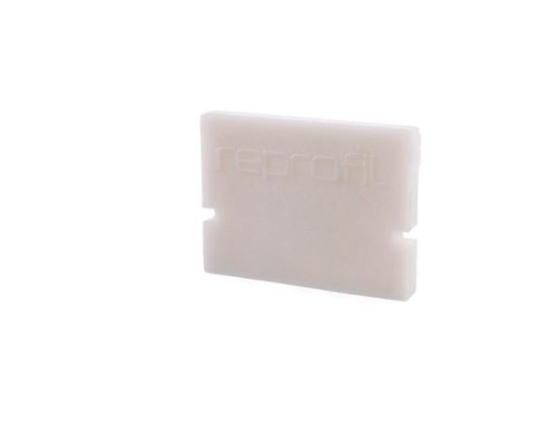 Reprofil Profil Zubehör, Endkappe H-AU-01-10 Set 2 Stk, Kunststoff, Weiß, 16x6mm