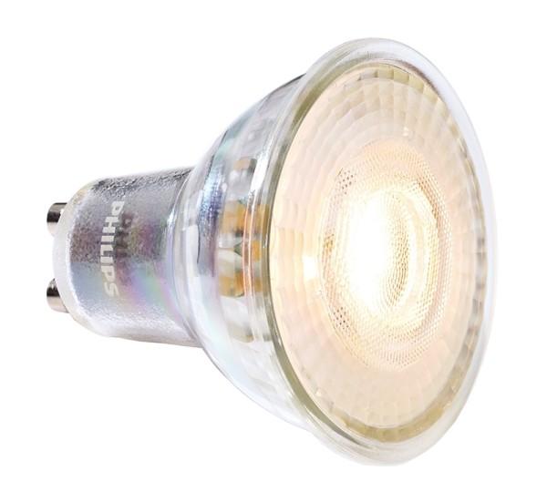 Phillips Leuchtmittel, MASTER VALUE LEDspot MV GU10 927, Glas, Silber, Warmweiß, 60°, 4W, 230V, 27mA