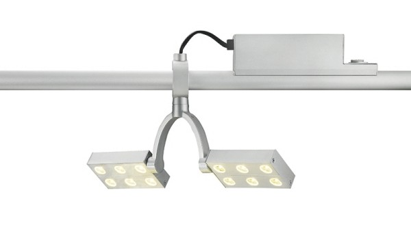 Tune 2-Phasen LED Spot Square Double 12x1 W, 3200K