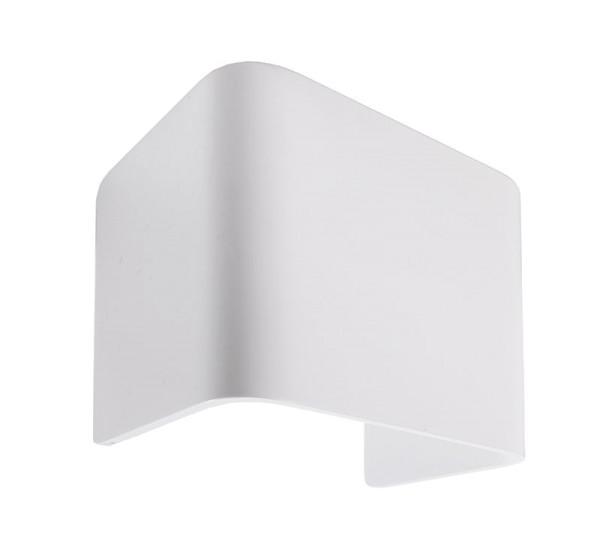 Deko-Light Zubehör, Abdeckung Crateris I Aluminium Weiß, Aluminium, Weiß lackiert, 125x90mm