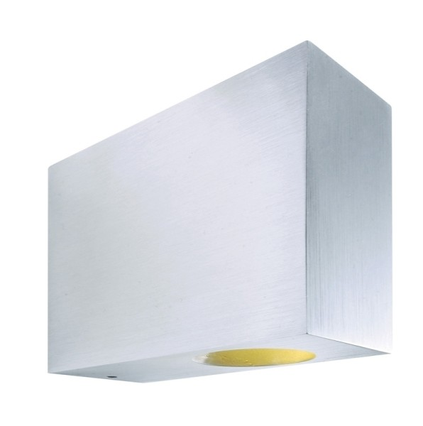 Aluminium LED-Wandlampe Sillar Flood / Flood