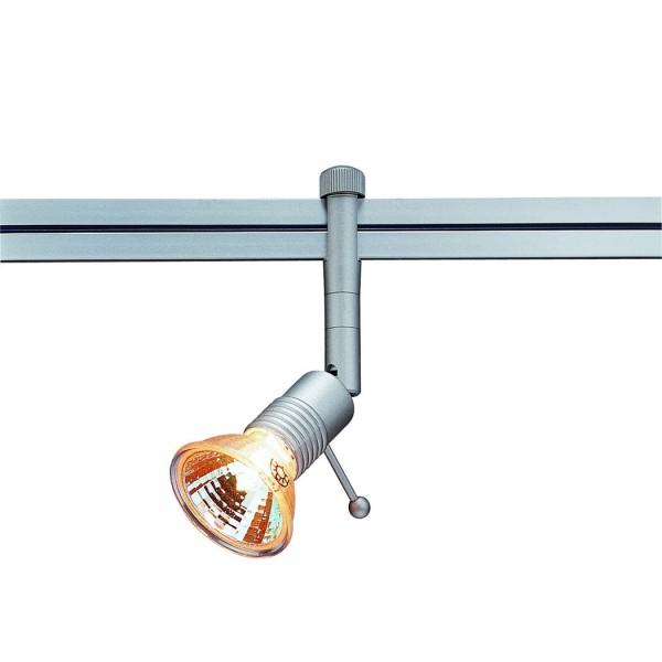 SYROS Lampenkopf für LINUX LIGHT, silbergrau, GX5,3, max. 50W