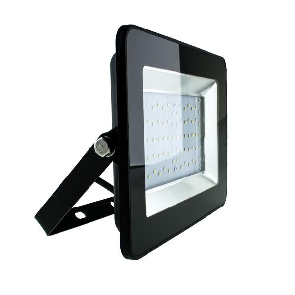 50W LED Outdoor Fluter, 4.500K, 4.250 Lumen, SMD, IP65, Schwarz, 230V