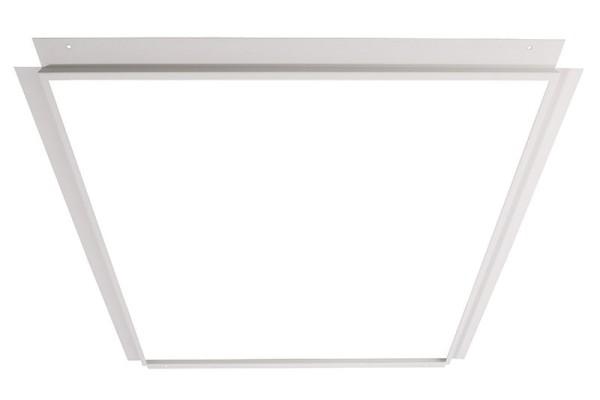 Deko-Light Zubehör, Einlegerahmen für Gips 62x62, Metall, weiß, 699x699mm